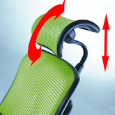 Headrest Height and Angle Adjustment